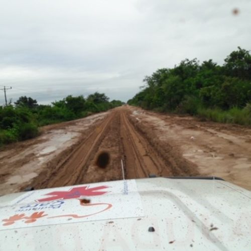 Road conditions from Vilanculos to Beira are very bad.