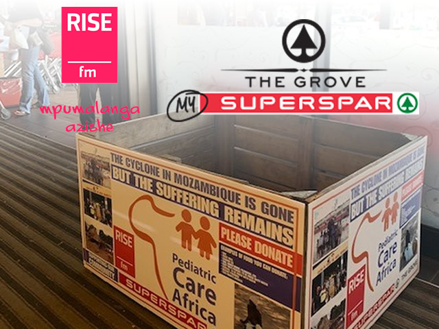 Awesome food donation initiative from Rise FM in cooperation
