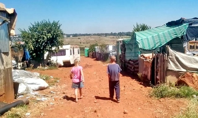 white squatter camps south africa