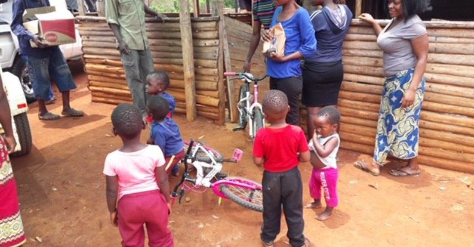 Medicine and Bicycles for the twins!