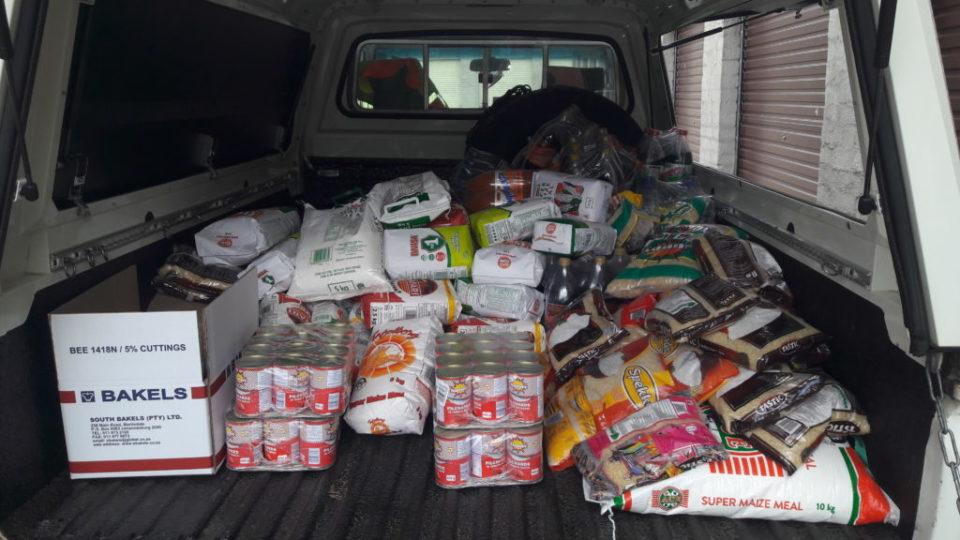 Load of food