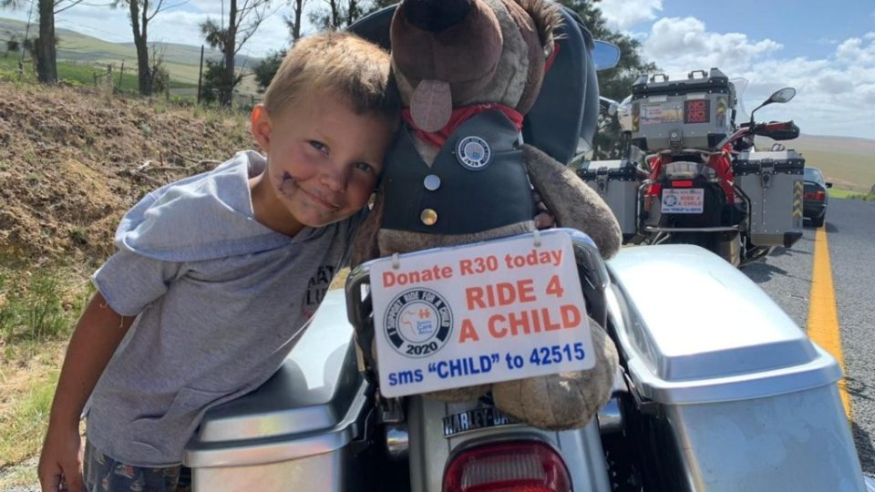 boy ride for a child