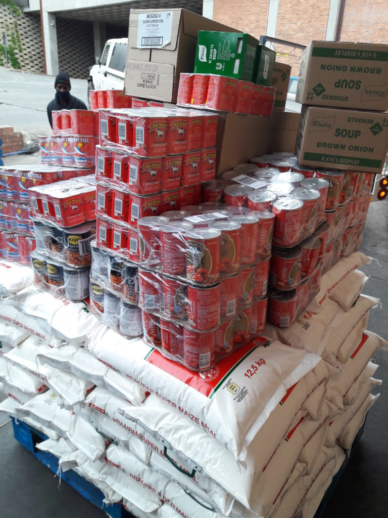 Donation collected at Spar Crossings
