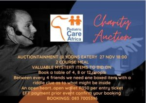 Charity Auction! @ Yoons Eatery