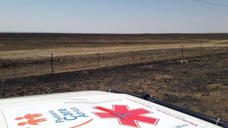 Free state burned fields