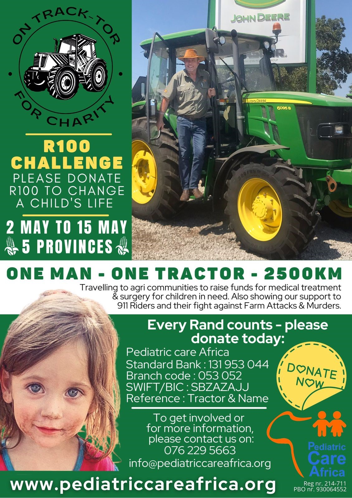 One-Man-One-Tractor May 2021