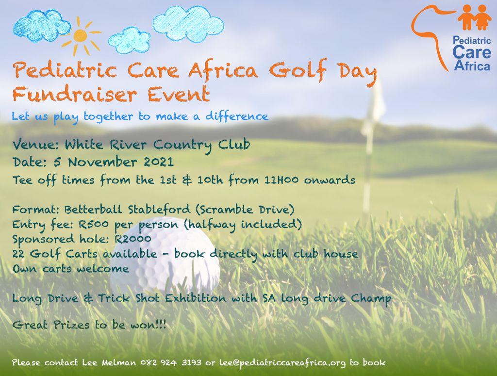 Pediatric care Africa Golf day